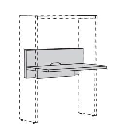 h lsta now time schreibtischplatte 4100 m bel zum g nstigsten preis. Black Bedroom Furniture Sets. Home Design Ideas
