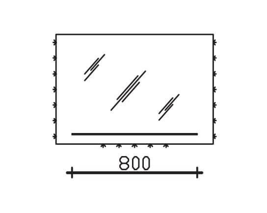 Pelipal Solitaire 9005 Neutrale Funktionsspiegel