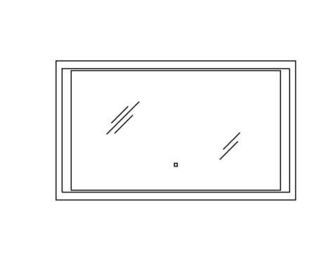 Pelipal Neutrale Flächenspiegel Neutrale Alu-Spiegel