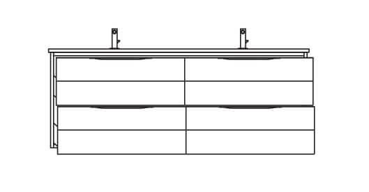 Pelipal Solitaire 6025 Waschtischunterschränke
