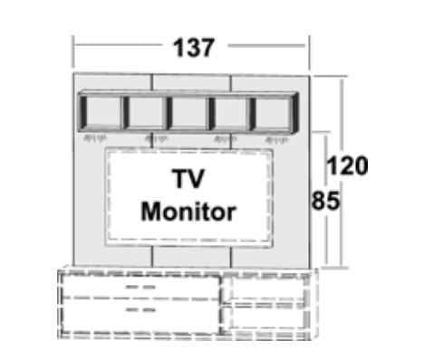 priess luna tv b nke m bel hier unschlagbar g nstig. Black Bedroom Furniture Sets. Home Design Ideas