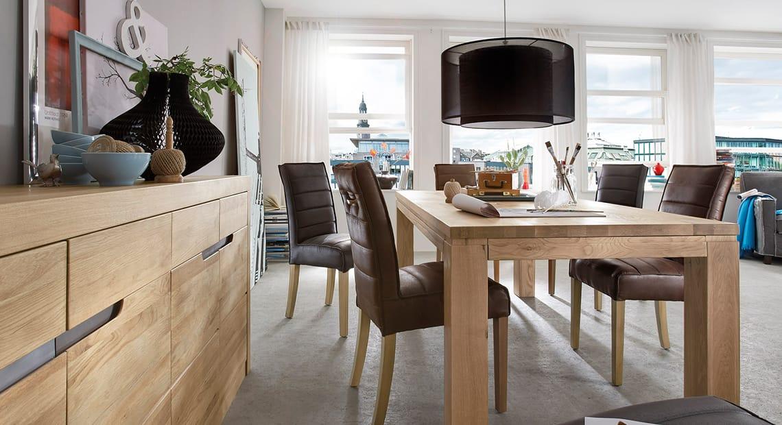 Massivholzmöbel in bester Qualität finden Sie bei Möbel Schröter