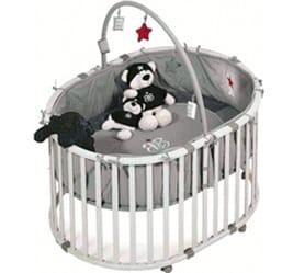Roba Kinderzimmer Zusatzartikel Laufgitter Laufgitter oval Rock Star Baby