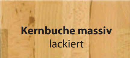 Standard-Furniture Tische Hermann Kernbuche massiv lackiert