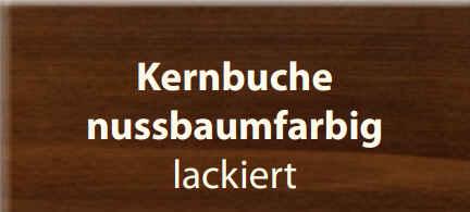 Standard-Furniture Tische Hermann Kernbuche nussbaumfarbig lackiert